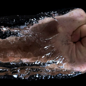 you by Dietmar Kuhn - People Body Parts ( water, sharp, fist, arm, motion, water splash,  )