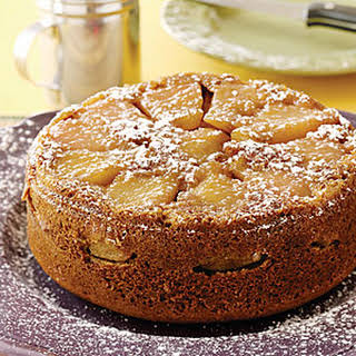 Pear Upside-Down Cake.