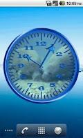 Screenshot of Manatee 1 Analog Clock