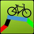 Bike Route Planner (& Tracker) icon