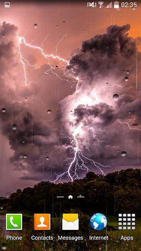 雷雨ライブ壁紙