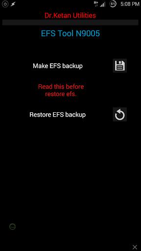 IMEI EFS Tool Samsung N9005