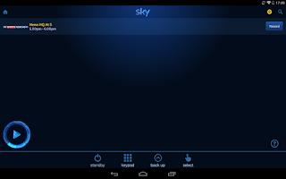 Screenshot of Sky+