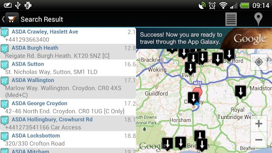 Superstores Locator Free- screenshot thumbnail