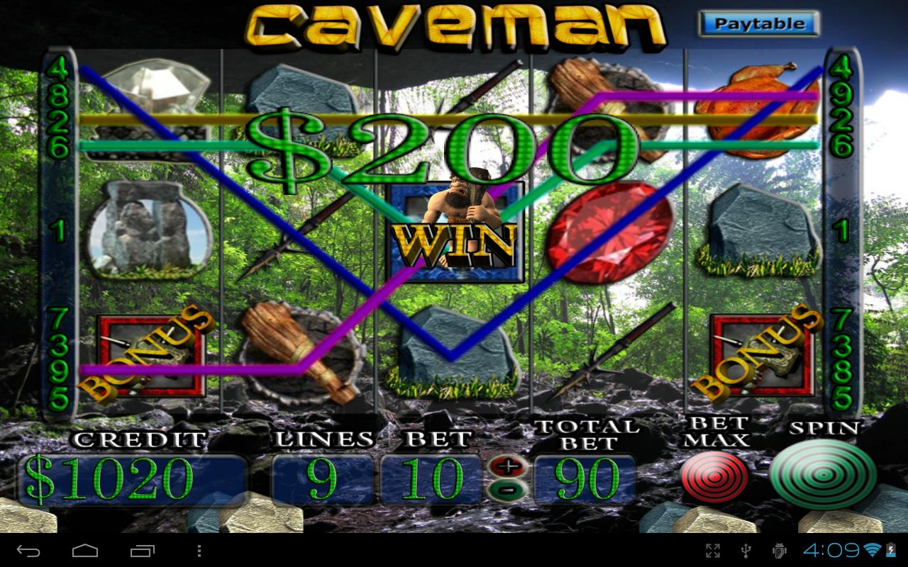 Caveman Quiz : Caveman vegas slot machine android apps on google play