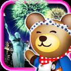 クマの花火パズル![登録不要の打上花火&パズルゲーム!] icon