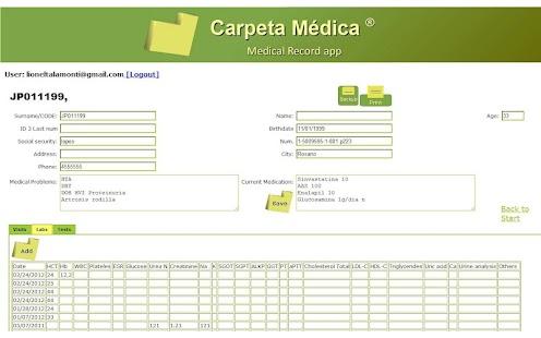 Carpeta Medica ®- screenshot thumbnail