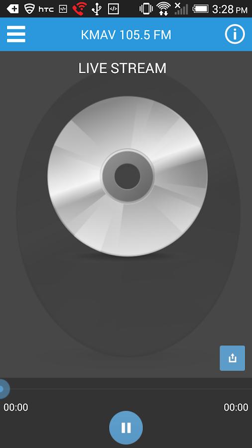 KMAV Radio - screenshot