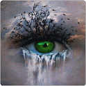 Crying Eye 3D Live Wallpaper icon