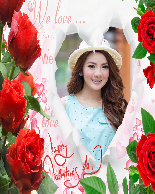 flower frame love  android apps on google play, Natural flower