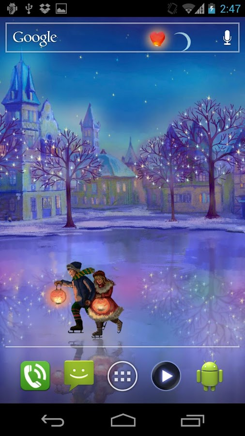 Valentine Rink Live Wallpaper - screenshot