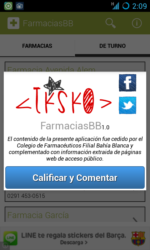 FarmaciasBB - screenshot