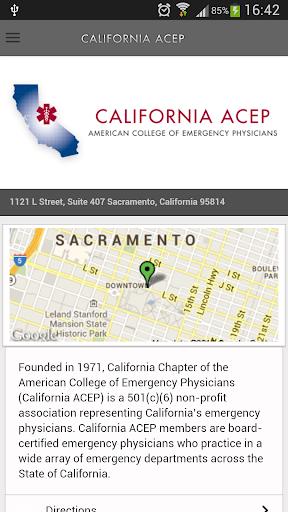 California ACEP