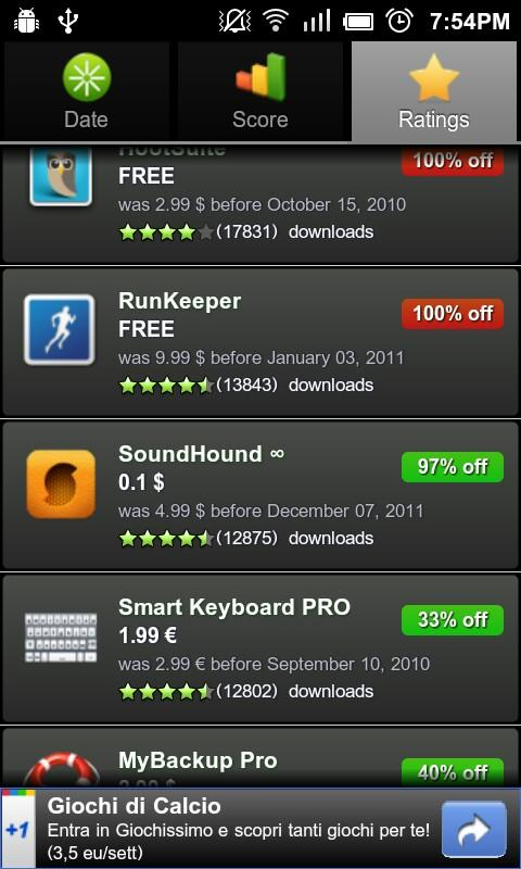 Apps on Sale 2 - screenshot