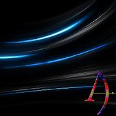 Blue Rays Theme By Arjun Arora