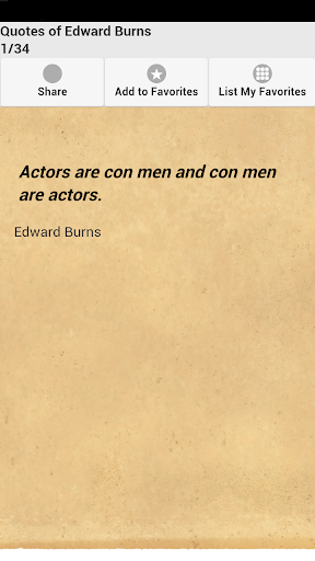 Quotes of Edward Burns