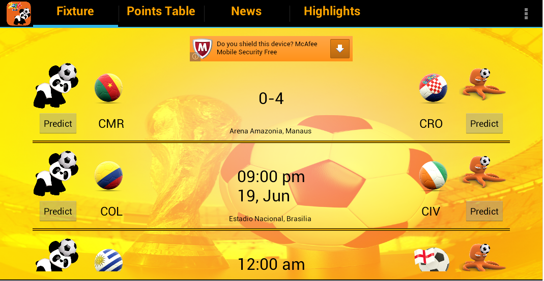 Football Fixtures News Scores- screenshot