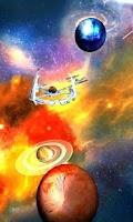 Screenshot of UR 3D Galaxy Live Wallpaper