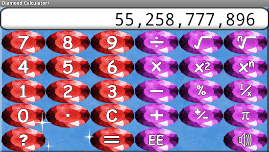 Diamond Calculator + HD - screenshot thumbnail