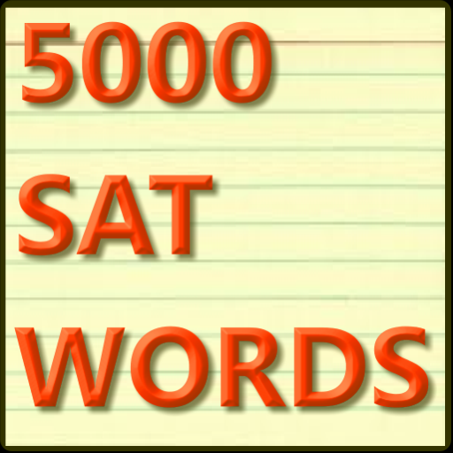 5000 SAT Vocabulary Flashcards LOGO-APP點子