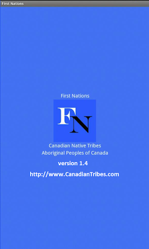 First Nations for Tablets