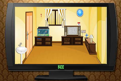 Vintage TV Room Escape - screenshot