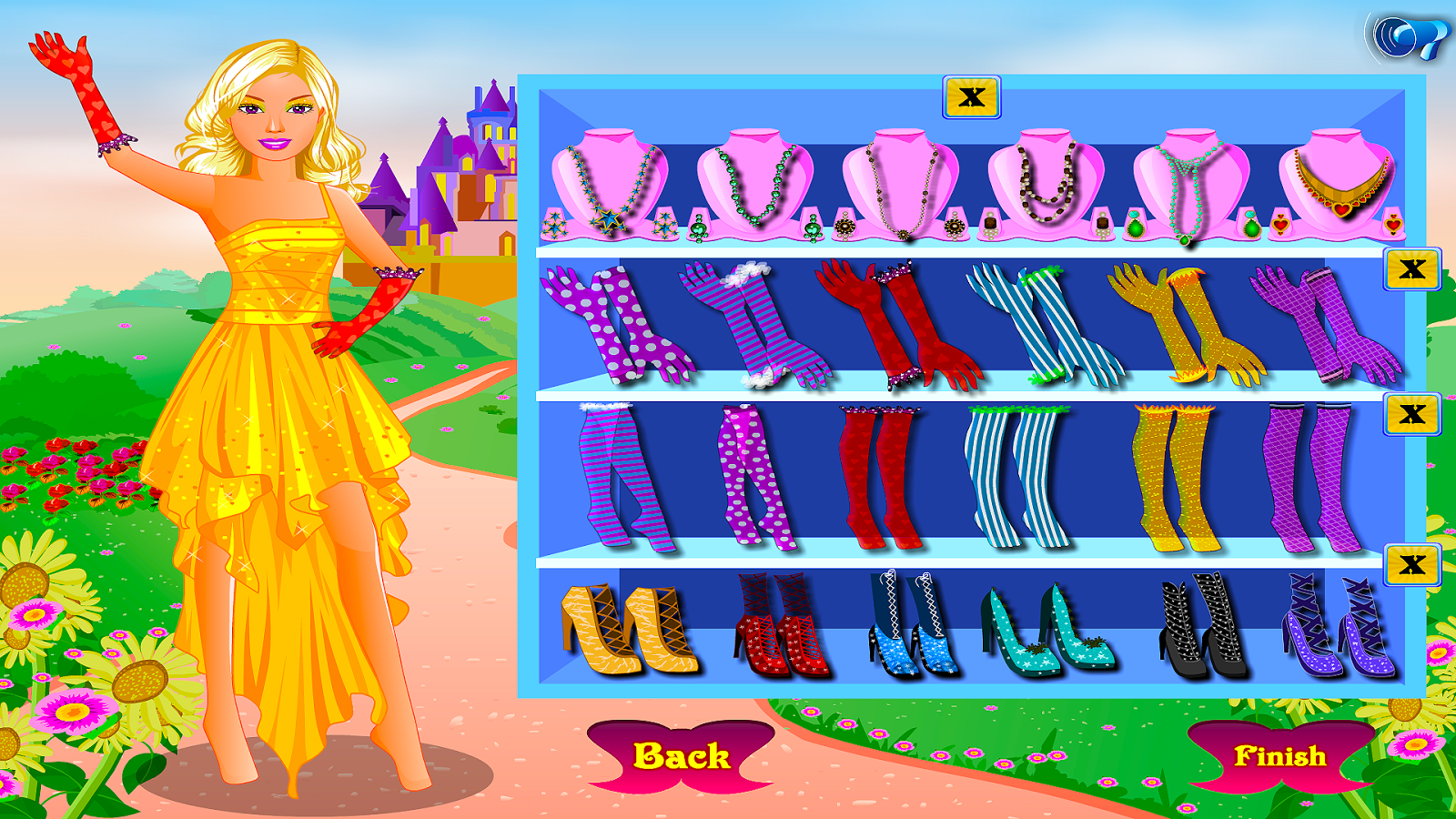 Princess Girl Dress Up- screenshot