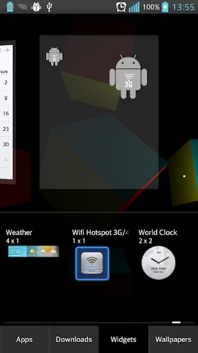 Wifi Hotspot 3G 4G Widget