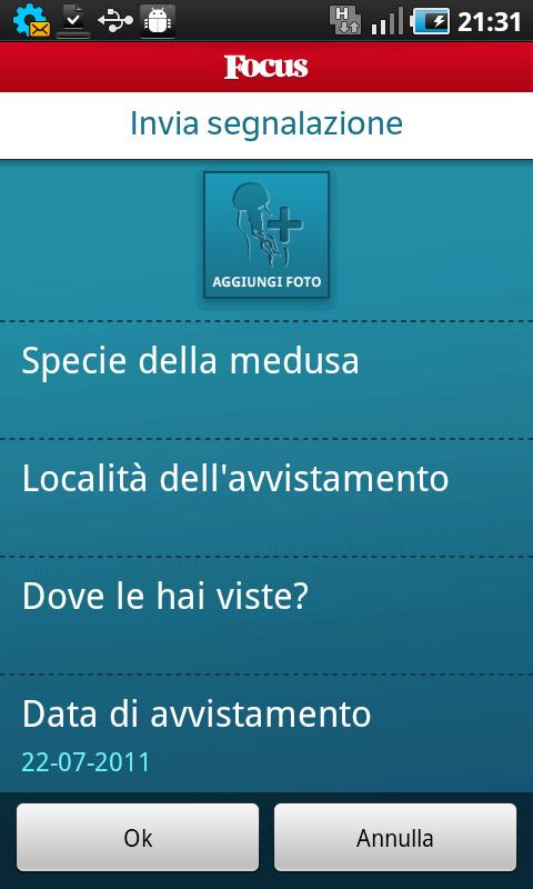 Focus Meteo Meduse- screenshot