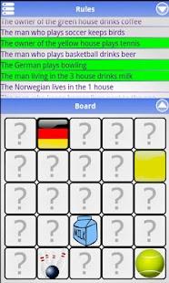 Einstein's Riddle- screenshot thumbnail