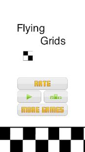 Flying Grids - Black White