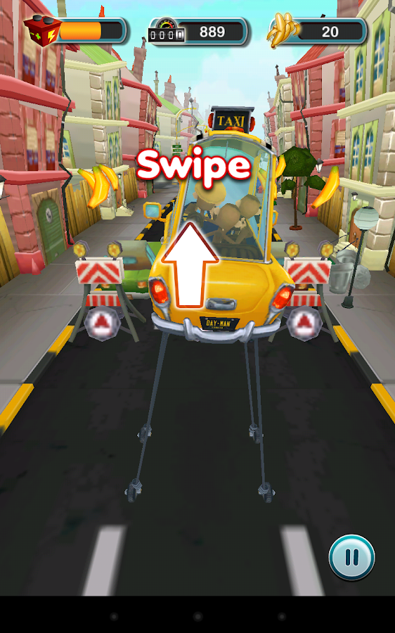 Drive Me Bananas - screenshot