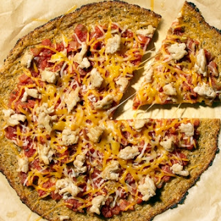 Cauliflower Mexican Pizza