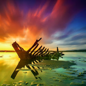 Just Bone by Bayu Adnyana - Landscapes Sunsets & Sunrises ( bali, tuban, balilandscaper, landscape photography, sunrise, landscape, landscapes, golden hour, sunset,  )