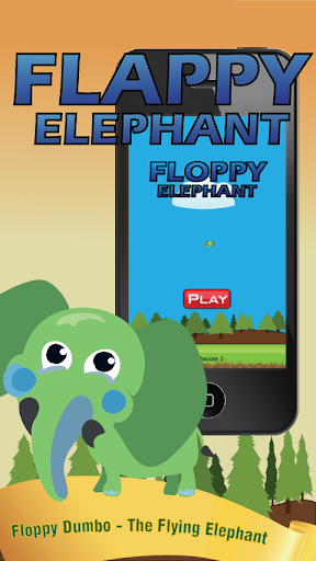 Floppy Dumbo Flying Elephant