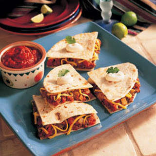 Cheesy Quesadillas.