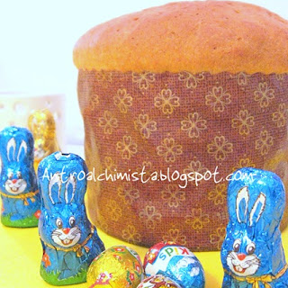 Easter Bread with Cheese.