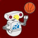 ULM Football & Basketball logo