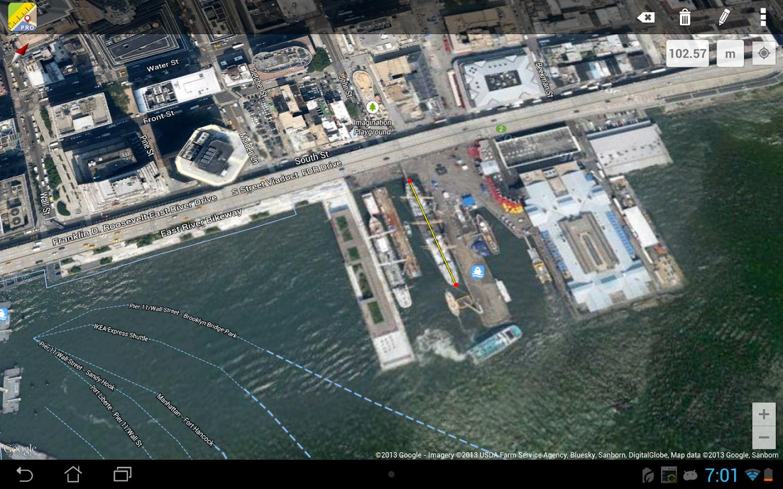 Maps Ruler- screenshot