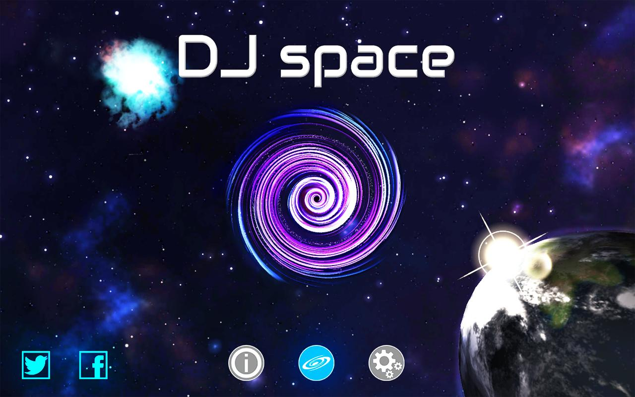 DJ space - screenshot