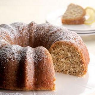 Lemon Poppy-Seed Cake.