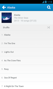 Rdio - screenshot thumbnail
