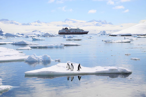 Hurtigruten-Fram-in-Antarctica - An adventure of a lifetime awaits you aboard Hurtigruten's flagshp Fram as it explores the icy waters of Antarctica.