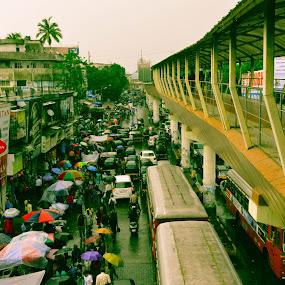 Streets of Mumbai by Rushi Chitre - City,  Street & Park  Street Scenes