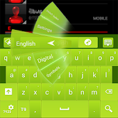 Green Apple GO Keyboard theme