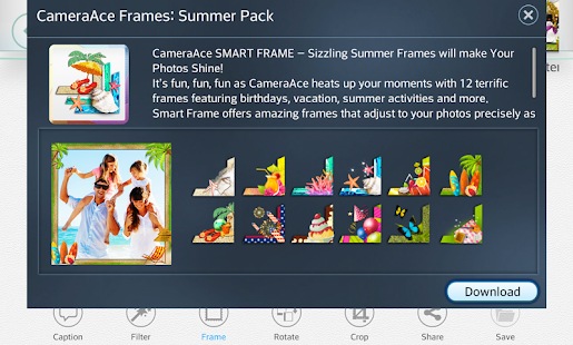 CameraAce Frames: Summer Pack|玩攝影App免費|玩APPs