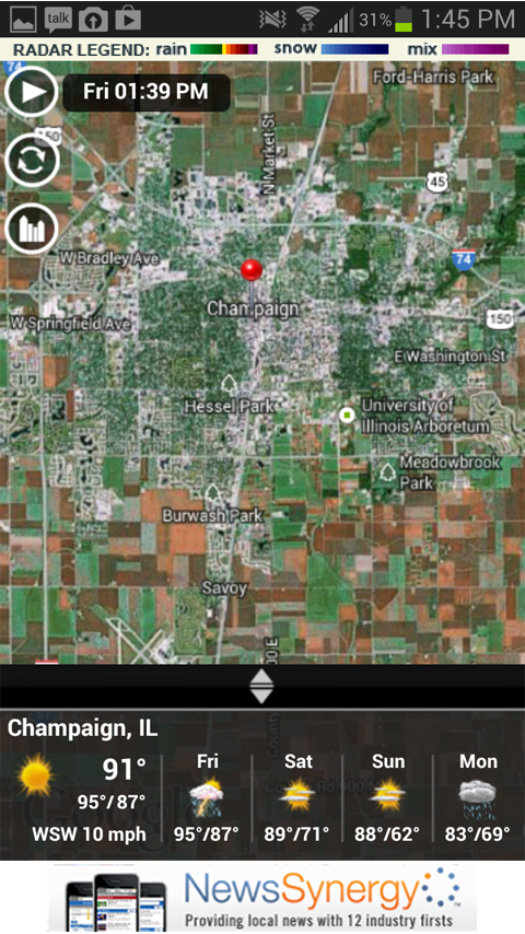 Illinoishomepage Mobile - screenshot