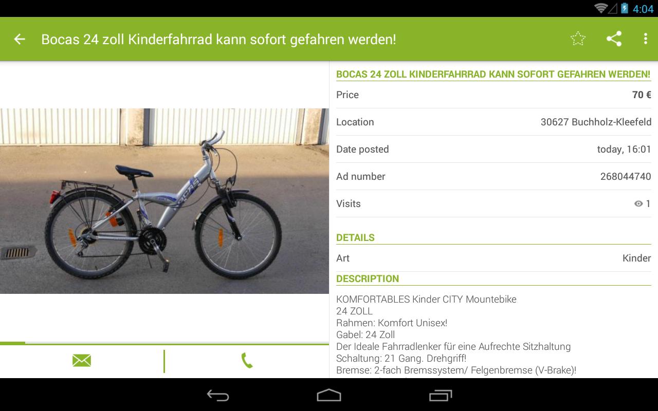 eBay Kleinanzeigen for Germany - screenshot