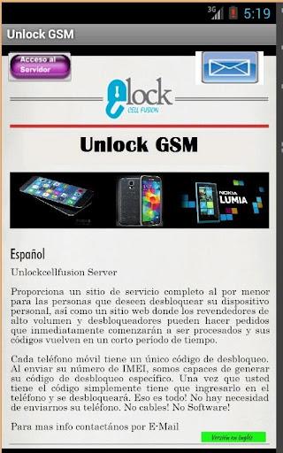 UnLock GSM