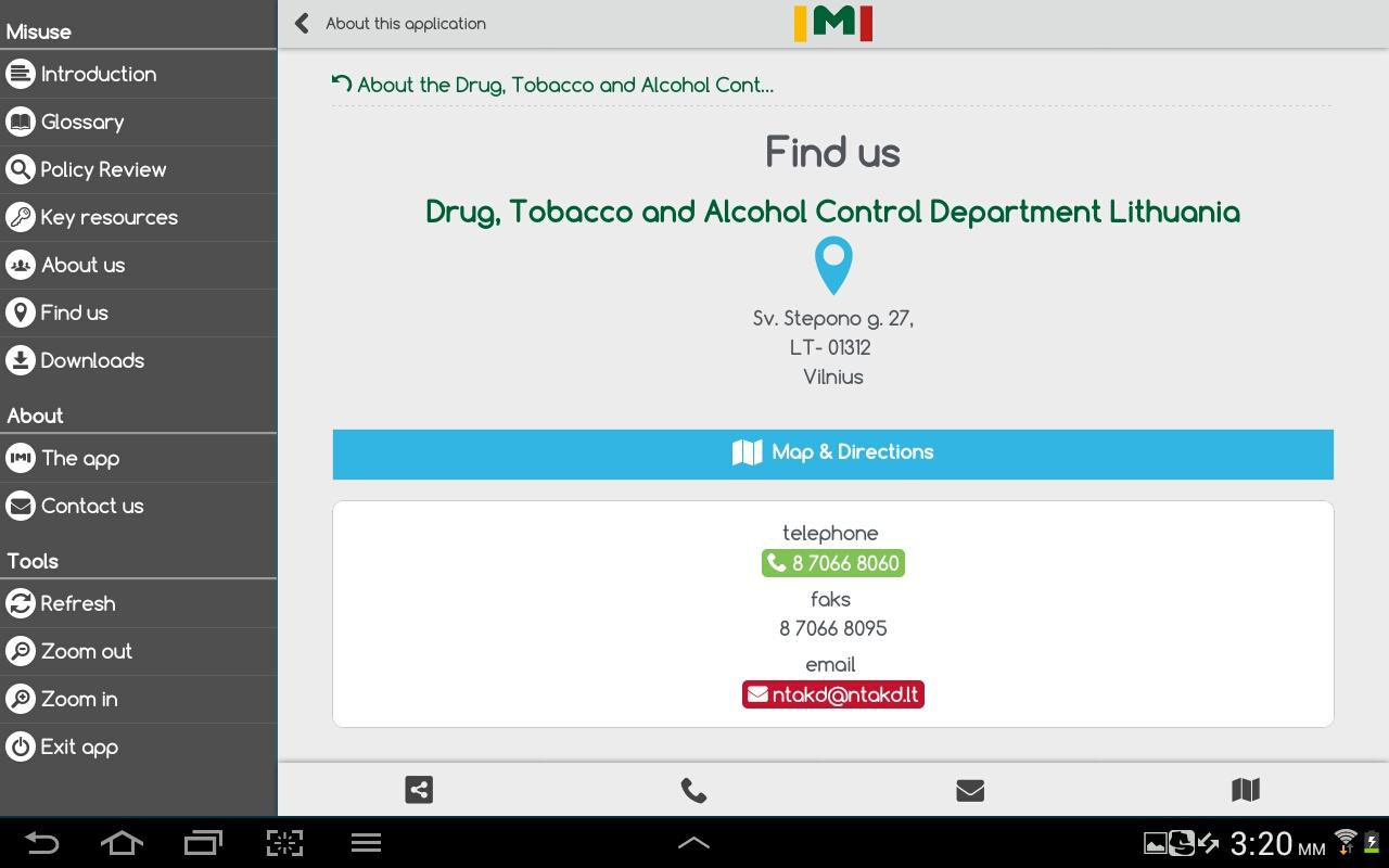 Medicines' Misuse- screenshot